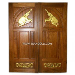 ประตูไม้สักทองบานคู่_007